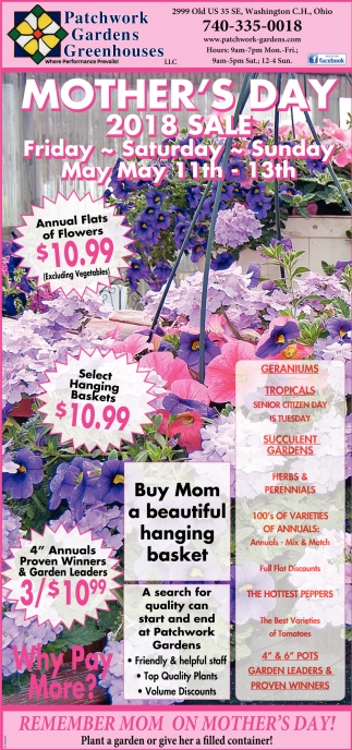 Mother's Day 2018 Sale