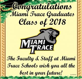 Congratulations Miami Trace Graduates