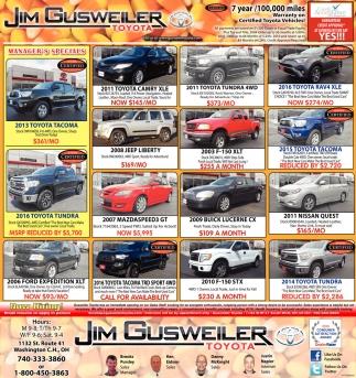 Jim Gusweiler Toyota