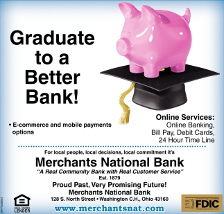 Graduate to a Better Bank!