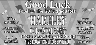 Good Luck to all of the 2018 graduates!