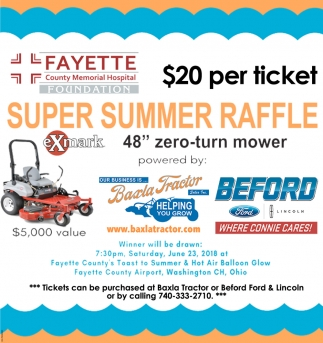 Super Summer Raffle