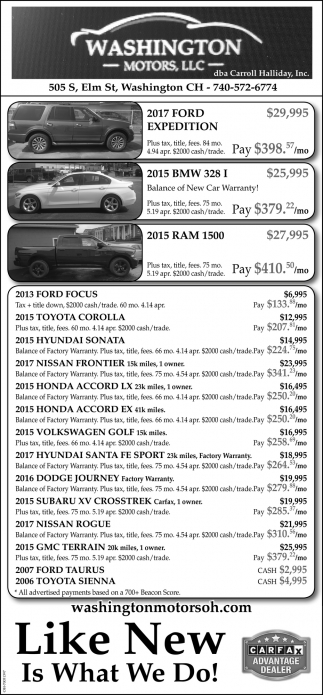 Great Cars at Great Prices!