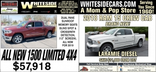 All New 1500 limited 4x4