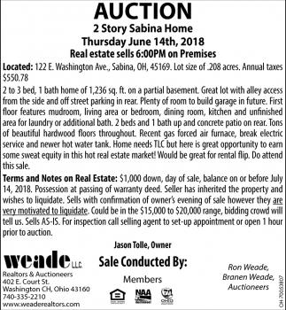 2 Story Sabina Home