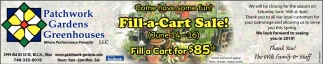 Fill-a-Cart Sale!