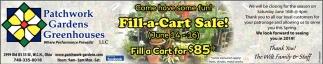 Fill-a-Cart Sale!