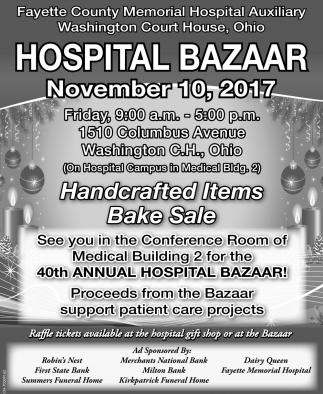 Hospital Bazaar