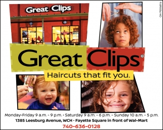 Haircuts that fit you