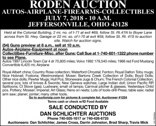Roden Auction