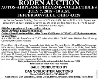 Roden Auction