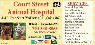 Dr. Robert G. Vanzant