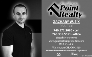 Zachary W. Six Realtor