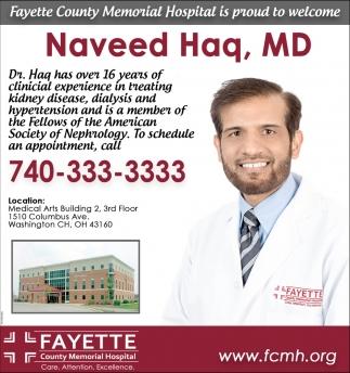 Naveed Haq, MD