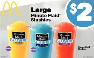 Minute Maid Slushies