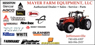 Authorized Dealer, Sales, Service, Parts
