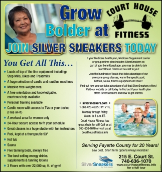 Join Silver Sneakers Today