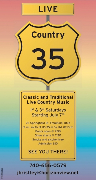 Classic and Traditional Live Country Music