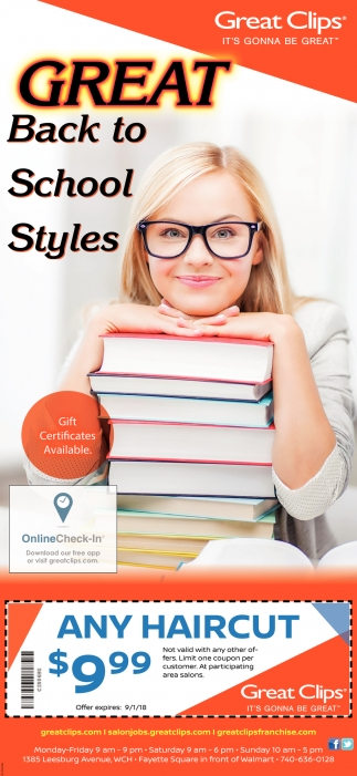 Great Back to School Styles