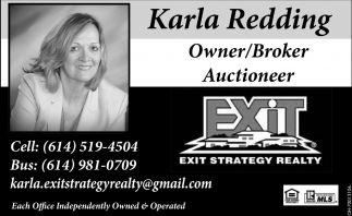 Karla Redding Owner/Broker Auctioneer