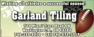 Wishing all athletes a successful season!