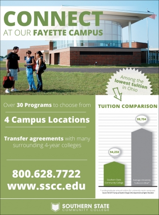 Connect at our Fayette Campus