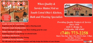 Providing Quality Products & Service Since 1958