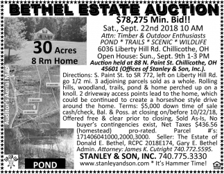 Bethel Estate Auction