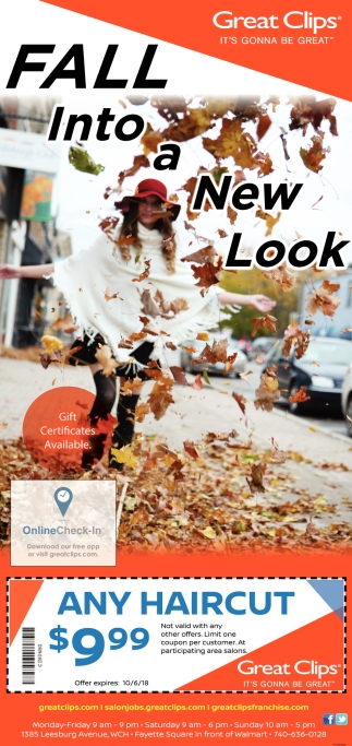 Fall Into a New Look