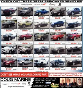 Doug Marine Motors Washington Court House Oh Saturn Vue Commercial