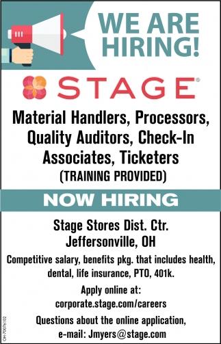 Material Handlers & Processors
