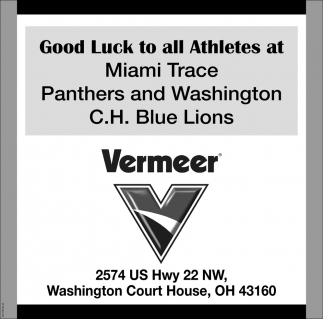 Good Luck Panthers and Blue Lions
