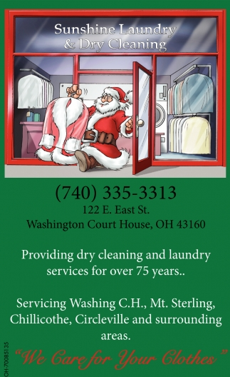 Providing dry cleaning and laundry services for over 75 years