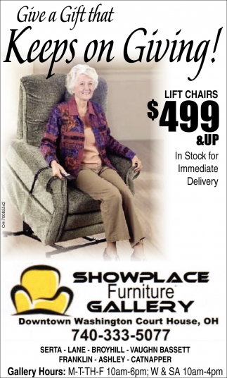 Lift Chairs $499 & Up