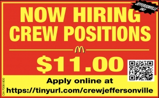 Crew Positions