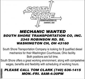 Mechanic Wanted