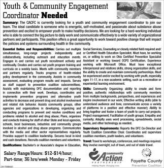 Youth & Community Engagement