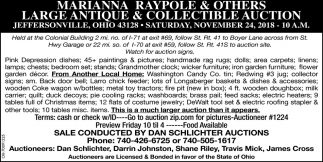 Large Antique & Collectible Auction