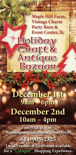 Holiday Craft & Antique Bazaar