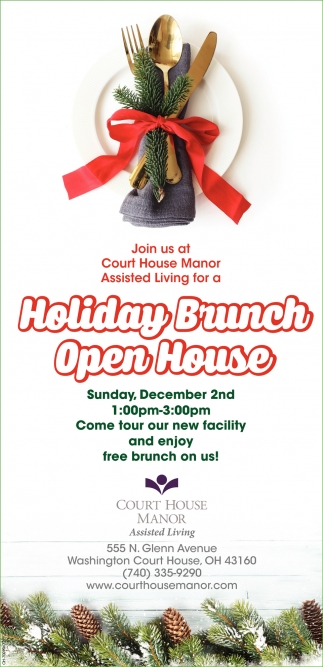 Holiday Brunch Open House