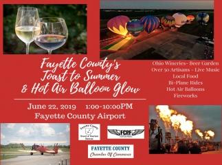Ohio Wineries, Beer Garden, Artisans, Live Music, Local Food