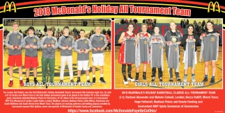 2018 McDonald's Holiday All Tournament Team
