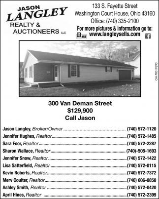 300 Van Deman Street