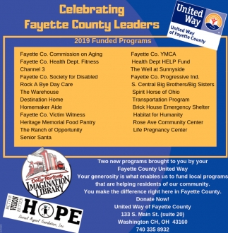 Celebrating Fayette County Leaders