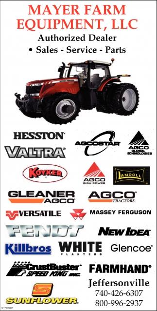 We have a HUGE selection of AGCO, AGCO Heritage, Massey Ferguson, Gleaner, Versatile and Killbros branded merchandise