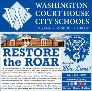 Restore the Roar - Home of the Blue Lions!