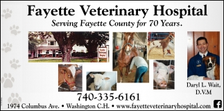 Serving Fayette County for 7o Years