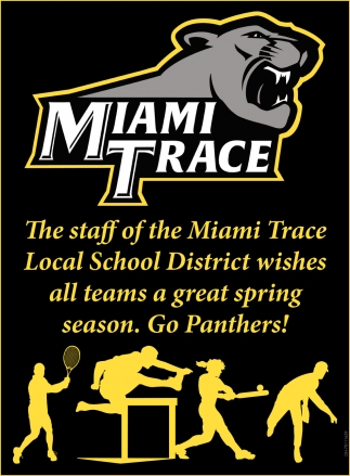 Wishes all teams a great spring season. Go Panthers!