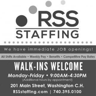 Walk - Ins - Welcome
