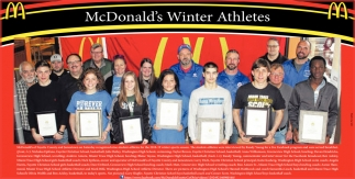 Mcdonald's Winter Athletes